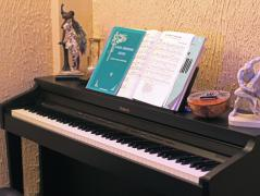 Музыка в тайм-кафе.